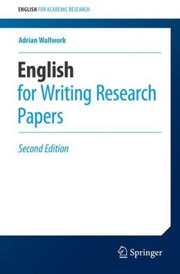 Abbildung von Wallwork | English for Writing Research Papers | 2. Auflage | 2016 | beck-shop.de