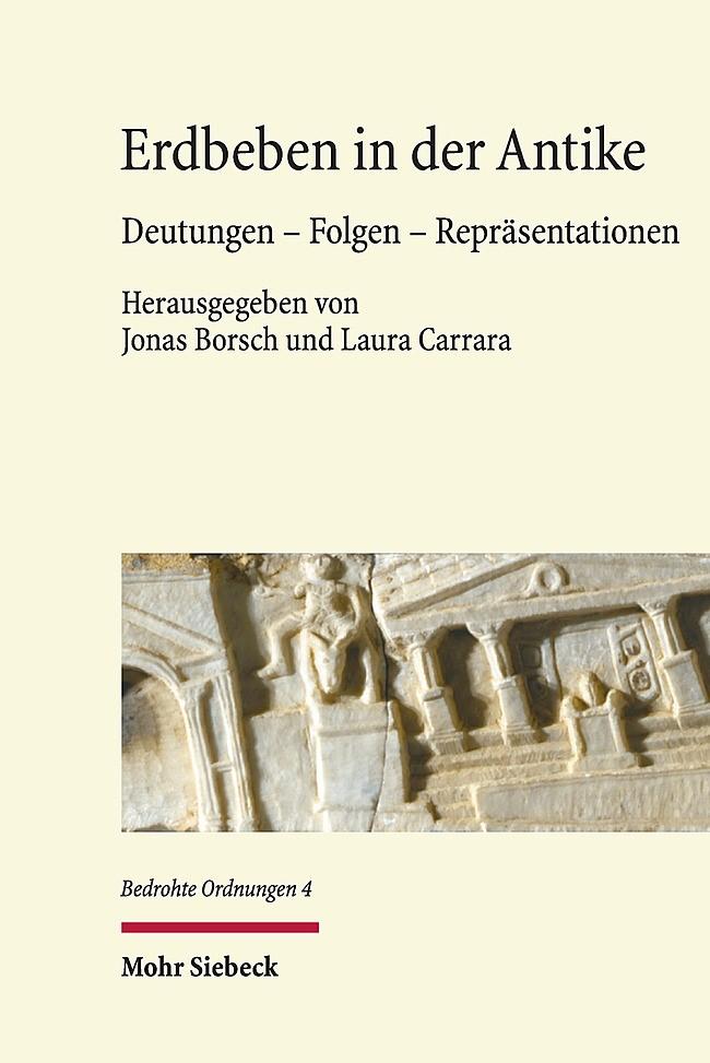 Erdbeben in der Antike | Borsch / Carrara, 2016 | Buch (Cover)