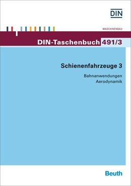 Abbildung von DIN e.V. | Schienenfahrzeuge 3 | 1. Auflage | 2015 | 491/3 | beck-shop.de