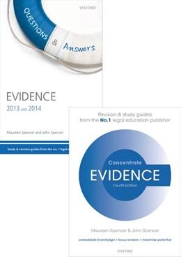Abbildung von Spencer | Evidence Revision Pack 2015 | 1. Auflage | 2015 | beck-shop.de