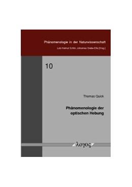 Abbildung von Quick | Phänomenologie der optischen Hebung | 1. Auflage | 2015 | 10 | beck-shop.de