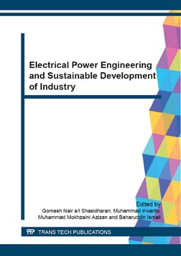 Abbildung von Shasidharan / Irwanto | Electrical Power Engineering and Sustainable Development of Industry | 1. Auflage | 2015 | Volume 793 | beck-shop.de