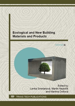 Abbildung von Smetanova / Nejedl?k | Ecological and New Building Materials and Products | 1. Auflage | 2015 | Volume 1124 | beck-shop.de