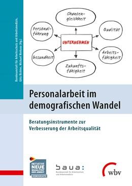 Abbildung von Richter / Niehaus | Personalarbeit im demografischen Wandel | 2015 | Beratungsinstrumente zur Verbe...