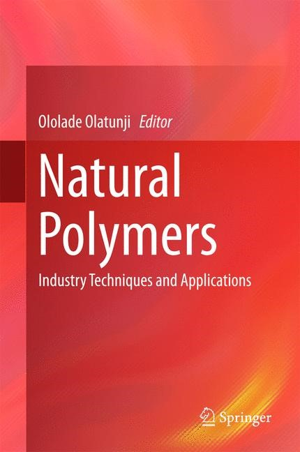 Natural Polymers | Olatunji | 1st ed. 2016, 2016 | Buch (Cover)