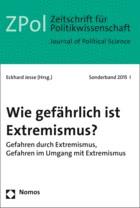 Wie gefährlich ist Extremismus? | Jesse | Buch (Cover)