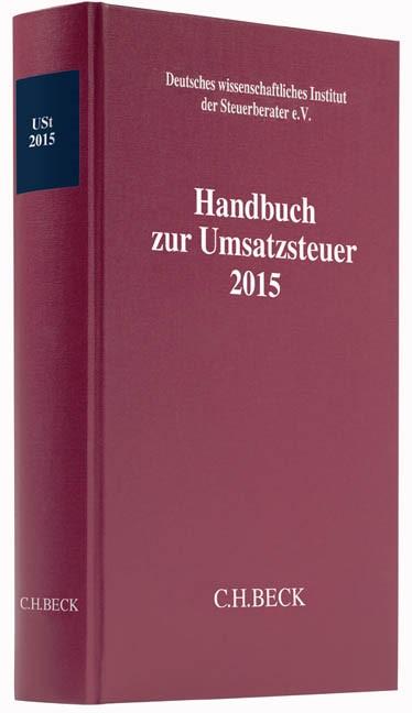 Handbuch zur Umsatzsteuer 2015: USt 2015, 2016 | Buch (Cover)