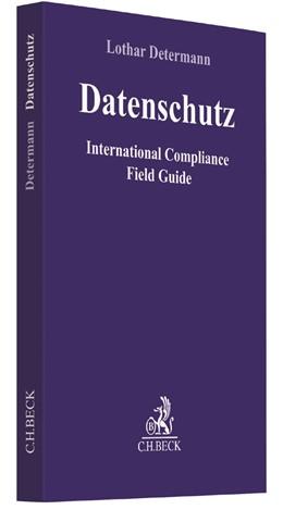 Abbildung von Determann | Datenschutz | 2017 | International Compliance Field...