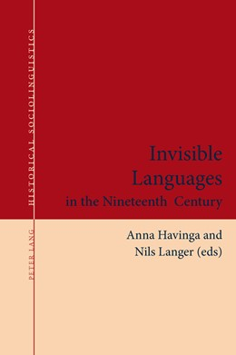 Abbildung von Havinga / Langer   Invisible Languages in the Nineteenth Century   1. Auflage   2015   2   beck-shop.de