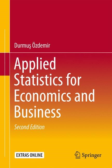 Applied Statistics for Economics and Business | Özdemir | 2. Auflage, 2016 | Buch (Cover)