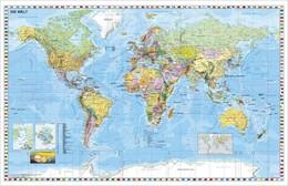 Abbildung von Weltkarte (deutsch) Großformat. Poster | 1. Auflage | 2014 | beck-shop.de