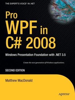 Abbildung von MacDonald | Pro WPF in C# 2008 | 2nd ed | 2008