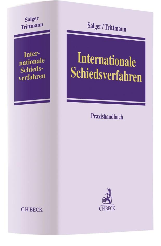 Abbildung von Salger / Trittmann | Internationale Schiedsverfahren | 2019