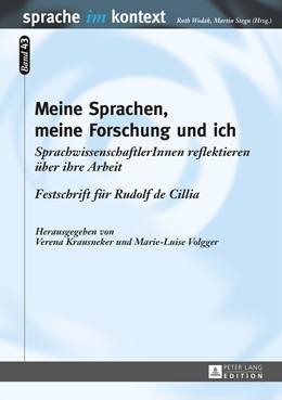 Abbildung von Krausneker / Volgger | Meine Sprachen, meine Forschung und ich | 2015 | SprachwissenschaftlerInnen ref... | 43