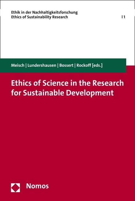 Abbildung von Meisch / Lundershausen / Bossert / Rockoff | Ethics of Science in the Research for Sustainable Development | 2015