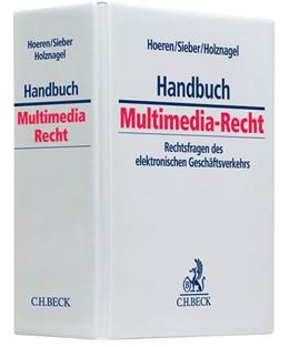 Abbildung von Hoeren / Sieber / Holznagel | Handbuch Multimedia-Recht | 49. Auflage | 2019 | Rechtsfragen des elektronische...