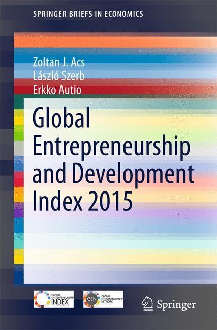 Abbildung von Acs / Szerb / Autio | Global Entrepreneurship and Development Index 2015 | 1st ed. 2016 | 2015