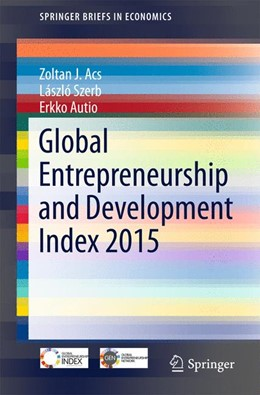 Abbildung von Acs / Szerb / Autio | Global Entrepreneurship and Development Index 2015 | 1st ed. 2016 | 2015