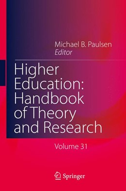 Abbildung von Paulsen | Higher Education: Handbook of Theory and Research | 1. Auflage | 2016 | 31 | beck-shop.de