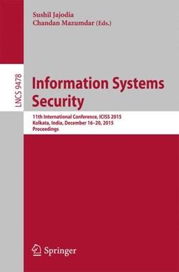 Abbildung von Jajoda / Mazumdar | Information Systems Security | 1. Auflage | 2015 | 9478 | beck-shop.de