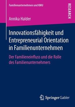Abbildung von Halder | Innovationsfähigkeit und Entrepreneurial Orientation in Familienunternehmen | 1. Auflage | 2015 | beck-shop.de
