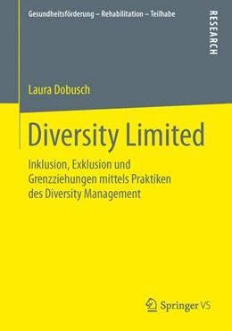 Abbildung von Dobusch | Diversity Limited | 2015 | Inklusion, Exklusion und Grenz...