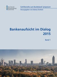 Abbildung von Dombret | Bankenaufsicht im Dialog 2015 | 2015