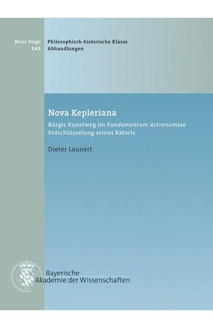 Cover: Dieter Launert, Nova Kepleriana