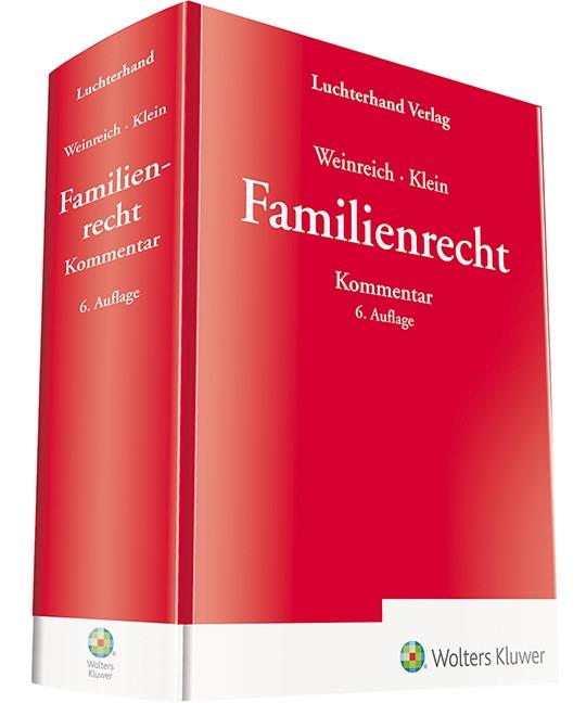 Familienrecht Kommentar | Weinreich / Klein | 6. Auflage, 2018 | Buch (Cover)