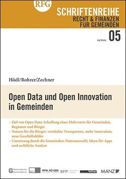 Abbildung von Hödl / Rohrer / Zechner | Open Data und Open Innovation in Gemeinden | 2015 | 5/2015