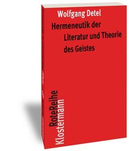 Abbildung von Detel | Hermeneutik der Literatur und Theorie des Geistes | 1. Auflage | 2015 | 80 | beck-shop.de