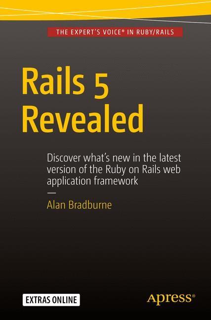 Rails 5 Revealed | Bradburne | 1st ed., 2016 | Buch (Cover)