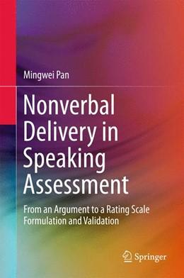 Abbildung von Pan | Nonverbal Delivery in Speaking Assessment | 1. Auflage | 2015 | beck-shop.de