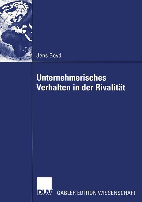 Unternehmerisches Verhalten in der Rivalität | Boyd, 2004 | Buch (Cover)