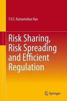 Abbildung von Rao | Risk Sharing, Risk Spreading and Efficient Regulation | 1. Auflage | 2015 | beck-shop.de