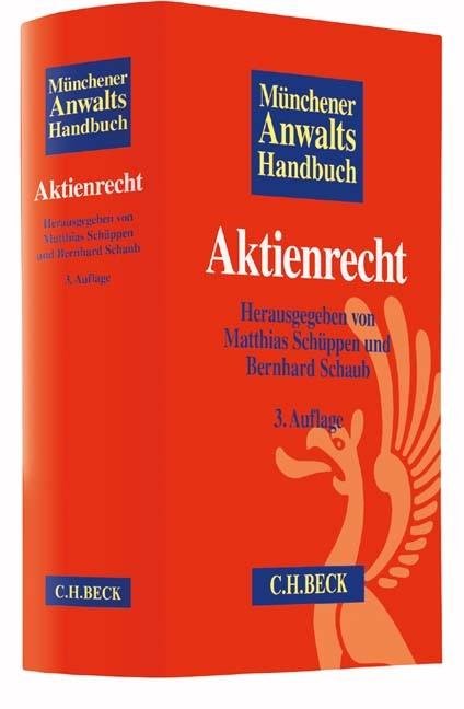 Münchener Anwaltshandbuch Aktienrecht | 3., überarbeitete und aktualisierte Auflage, 2018 | Buch (Cover)