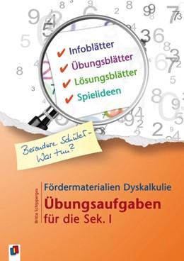 Abbildung von Schipperges   Fördermaterialien Dyskalkulie   2016   Übungsaufgaben für die Sek. I