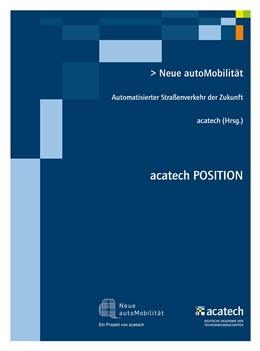 Abbildung von acatech | Neue autoMobilität | 1. Auflage | 2015 | beck-shop.de