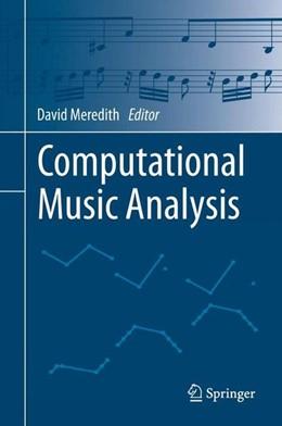 Abbildung von Meredith | Computational Music Analysis | 1st ed. 2016 | 2015