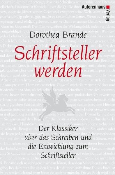 Schriftsteller werden   Brande   5. Auflage, 2015   Buch (Cover)