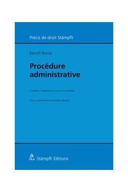 Abbildung von Bovay | Procédure administrative | 2e, édition | 2015