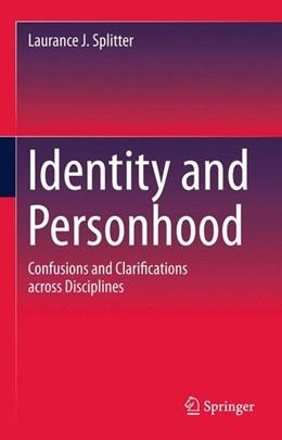 Abbildung von Splitter   Identity and Personhood   1. Auflage   2015   beck-shop.de