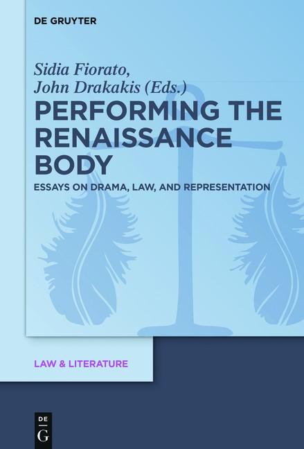 Abbildung von Drakakis / Fiorato | Performing the Renaissance Body | 2016