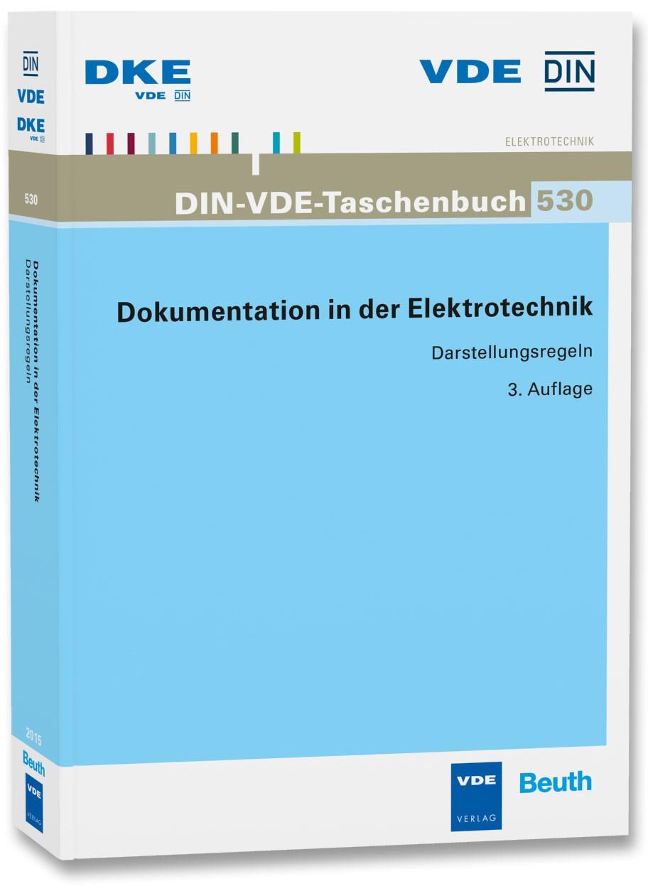 Abbildung von Dokumentation in der Elektrotechnik | 2015