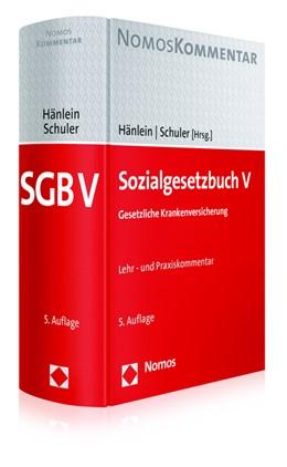 Abbildung von Hänlein / Schuler (Hrsg.)   Sozialgesetzbuch V: SGB V   5. Auflage   2016   beck-shop.de