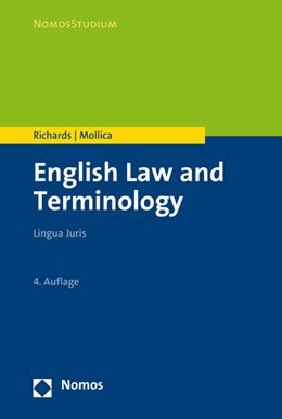 Abbildung von Richards / Mollica | English Law and Terminology | 4. Auflage | 2016 | Lingua Juris