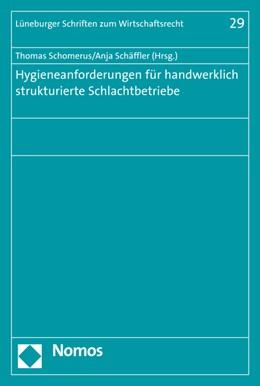 Abbildung von Schäffler / Schomerus   Hygieneanforderungen für handwerklich strukturierte Schlachtbetriebe   2015   29