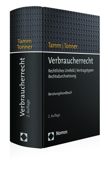 Verbraucherrecht | Tamm / Tonner | Buch (Cover)