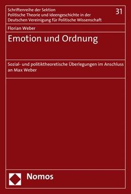 Abbildung von Weber | Emotion und Ordnung | 1. Auflage | 2015 | 31 | beck-shop.de