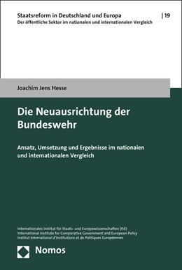 Abbildung von Hesse | Die Neuausrichtung der Bundeswehr | 1. Auflage | 2016 | beck-shop.de